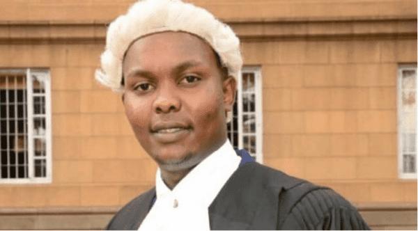 Onesmus Masaku, a Makueni based lawyer