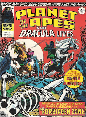 Marvel UK, Planet of the Apes #112, Battle for the Planet of the Apes