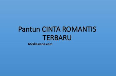Pantun Cinta Romantis Terbaru