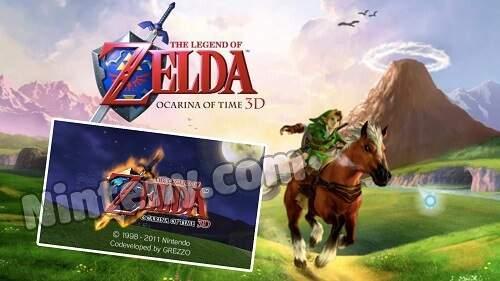 The Legend Of Zelda Ocarina Of Time 3D  3DS Decrypted