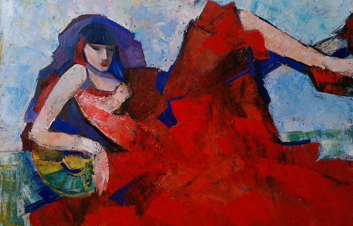 Известная одесская художница. Ирина Колесникова