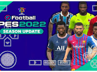 PES 2022 PPSSPP Android Best Real Graphics New Update Promotion Team & Full Last Transfer