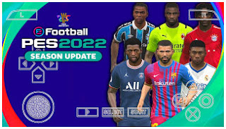 Download PES 2022 PPSSPP Android Best Real Graphics New Update Promotion Team & Full Last Transfer