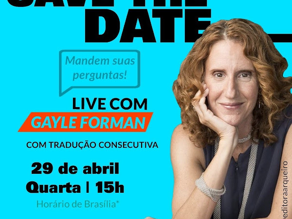 Live exclusiva com Gayle Forman
