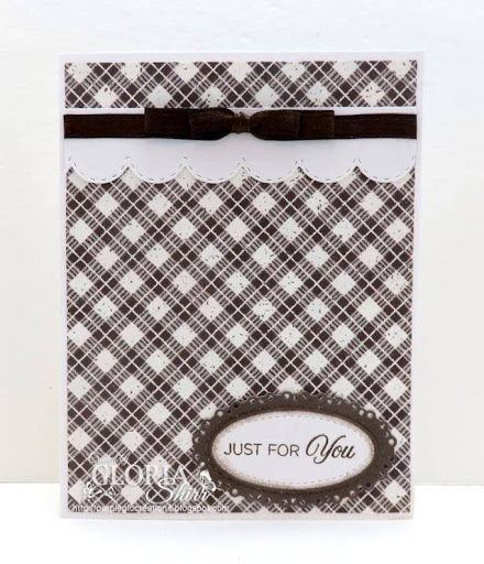 Featured Card at Try Stampin On Tuesday Challenge Blog