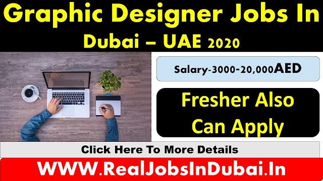 Graphis Desgner Jobs In Dubai, Abu Dhabi & Sharjah - UAE 2020