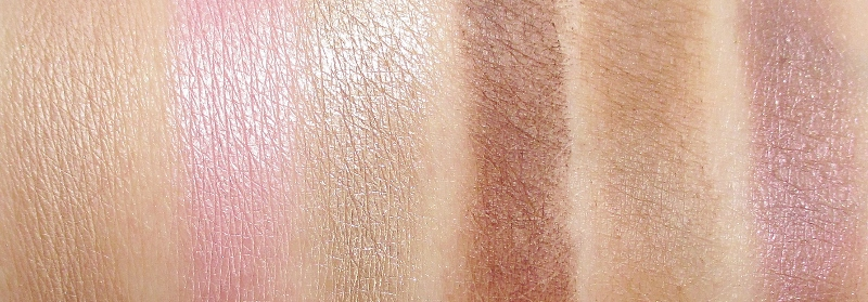 too-faced-chocolate-bon-bons-eye-shadow-palette-row-two-swatches
