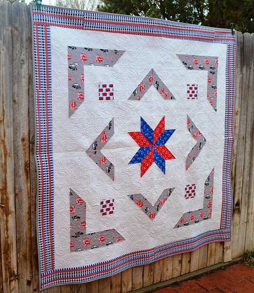 The Royal Star Quilt Free Tutorial