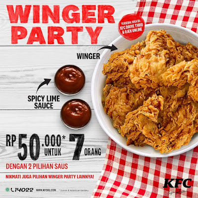 kfc winger party menu kfc lime chicken
