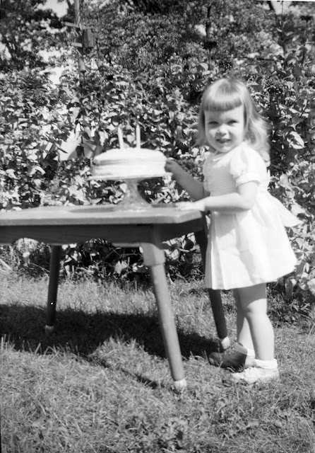 Adorable Vintage Snapshots Of A Little Girl Posing With