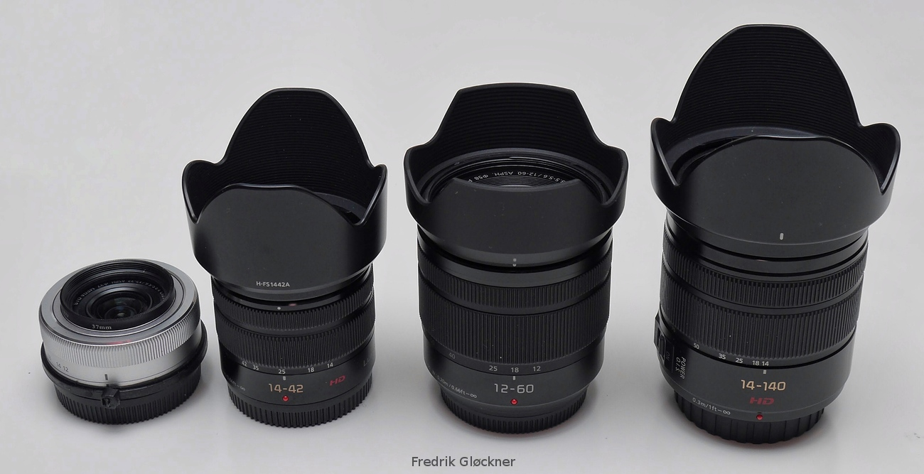 Micro 4 3rds Photography 2016 Panasonic Lumix Gh5 Body Lens Leica 12mm F 14 Asph From Left To Right G 12 32mm 35 56 42mm Ii 60mm And 140mm