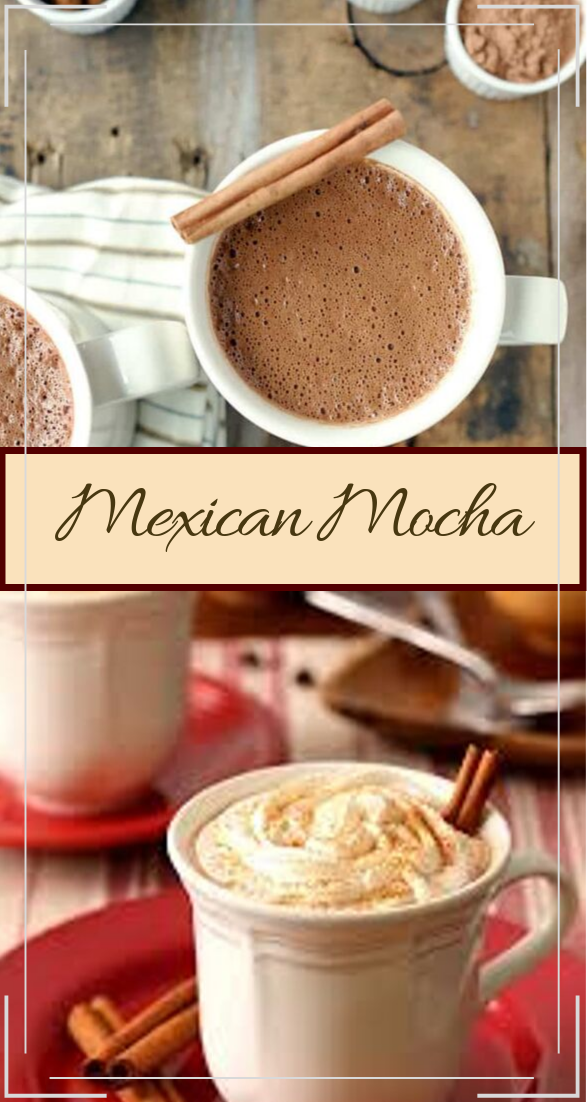 Mexican Mocha  #healthydrink #easyrecipe #cocktail #smoothie