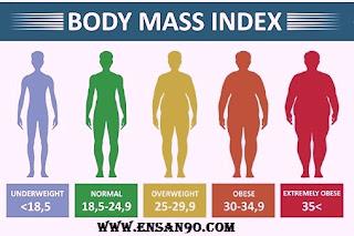 ازاى نعرف فيه سمنه و لا وزن زياده و لا الوزن طبيعى ؟