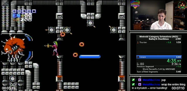 ANOVA80 Metroid Speedrun