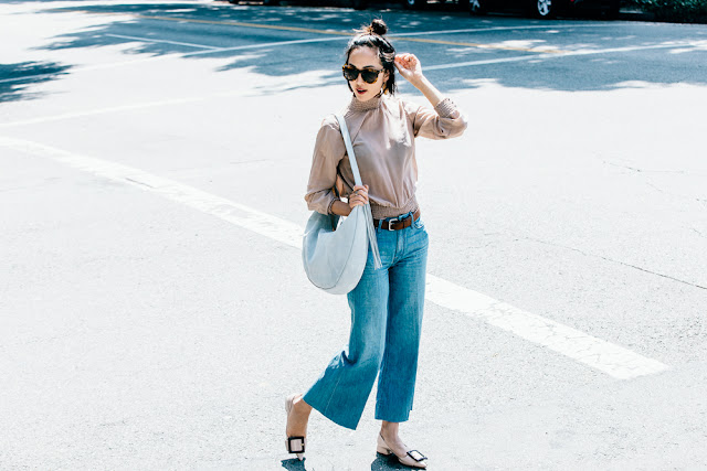Blogger Style: 5 Trends in 1 Look by The Chriselle Factor {Cool Chic Style Fashion}