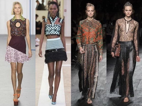 Spring Summer 2016 Skirts Fashion Trends Part 2