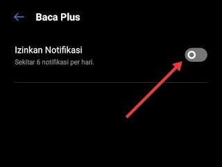 Cara menghilangkan notifikasi di hp