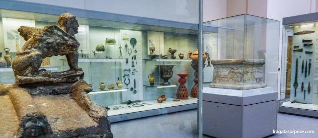 Peças da Coleção Etrusca do Museu Britânico de Londres