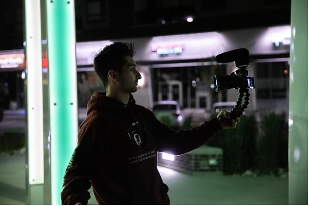fitur kamera vlog