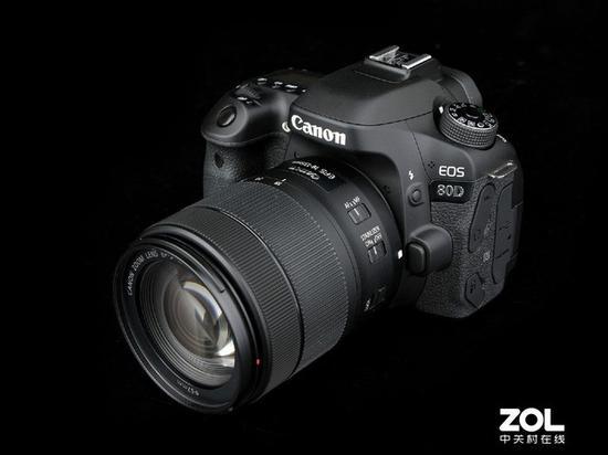Canon EOS 80D SLR camera