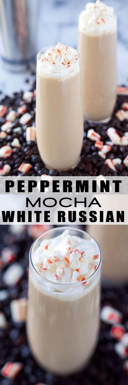 Peppermint Mocha White Russian