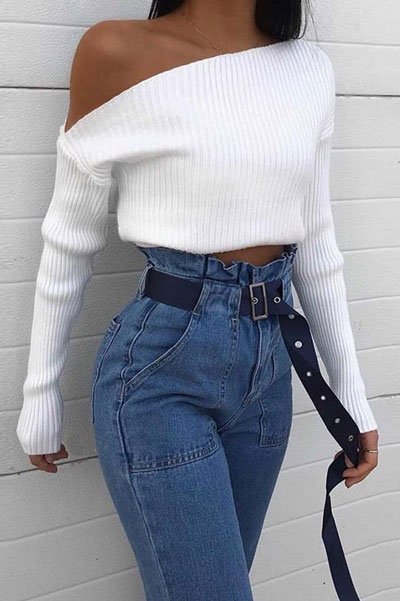 Looking for casual winter outfits? Consider these 23 Fabulous Winter Outfits To Get You Through The Season with Style. Fashion for Women via higiggle.com | chic look | #winter #fashion #cute
