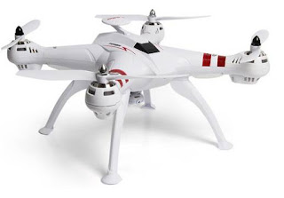 Drone bayangtoys drone murah memiliki gps