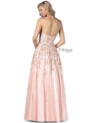 Sweetheart A-line Intrigue By Blush Prom Dress Rose Water color