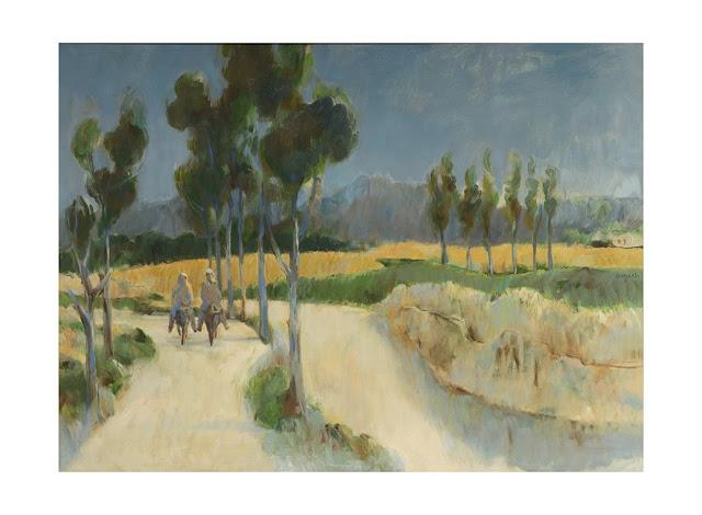 Bernard Arnest   landscape Painting of Afghanistan