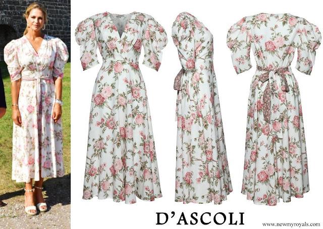 Princess Madeleine wore D'Ascoli Hampshire Dress