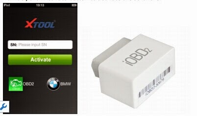 iOBD2 BMW Diagnostic Tool Support iPhone Android: iOBD2 BMW