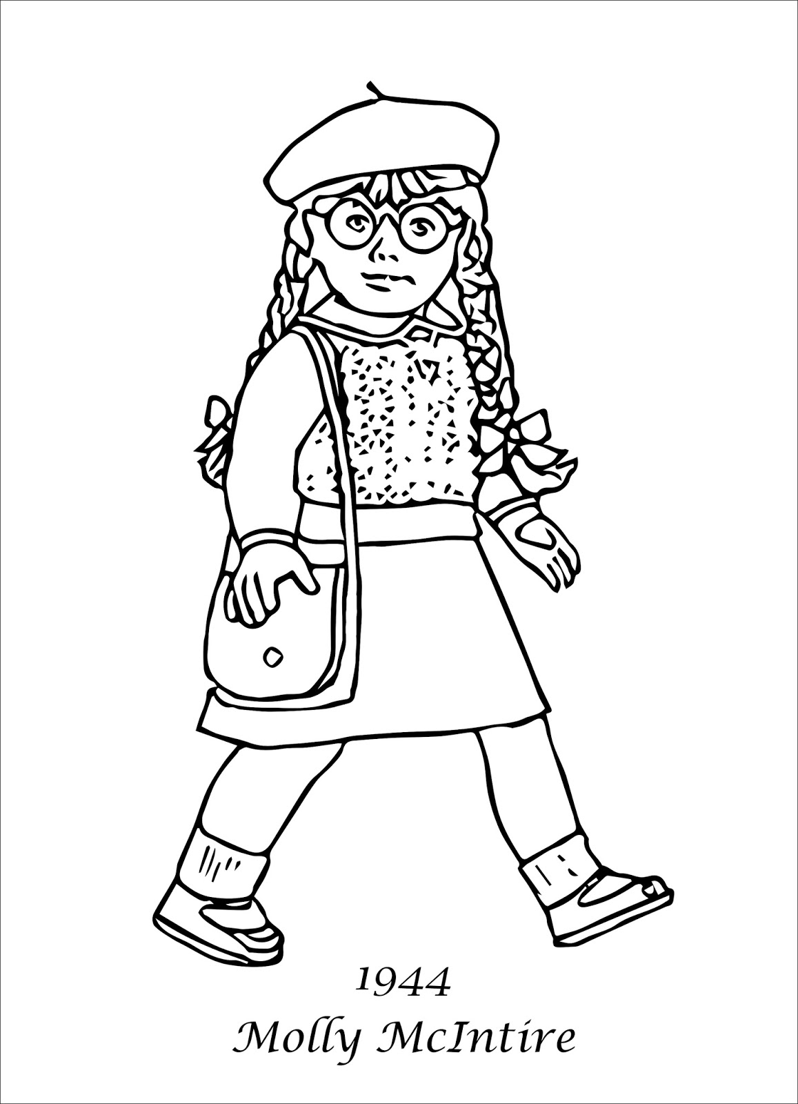 american girl printable coloring pages - photo#23