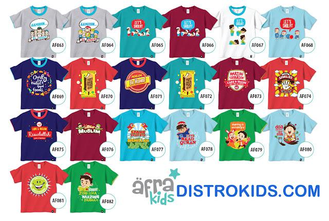 Kaos Afrakids Reseller, Daftar Afrakids reseller, Harga Murah Baju Muslim Anak
