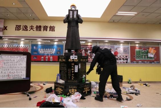 China warns of retaliation for U.S. legislation backing protesters in Hong Kong