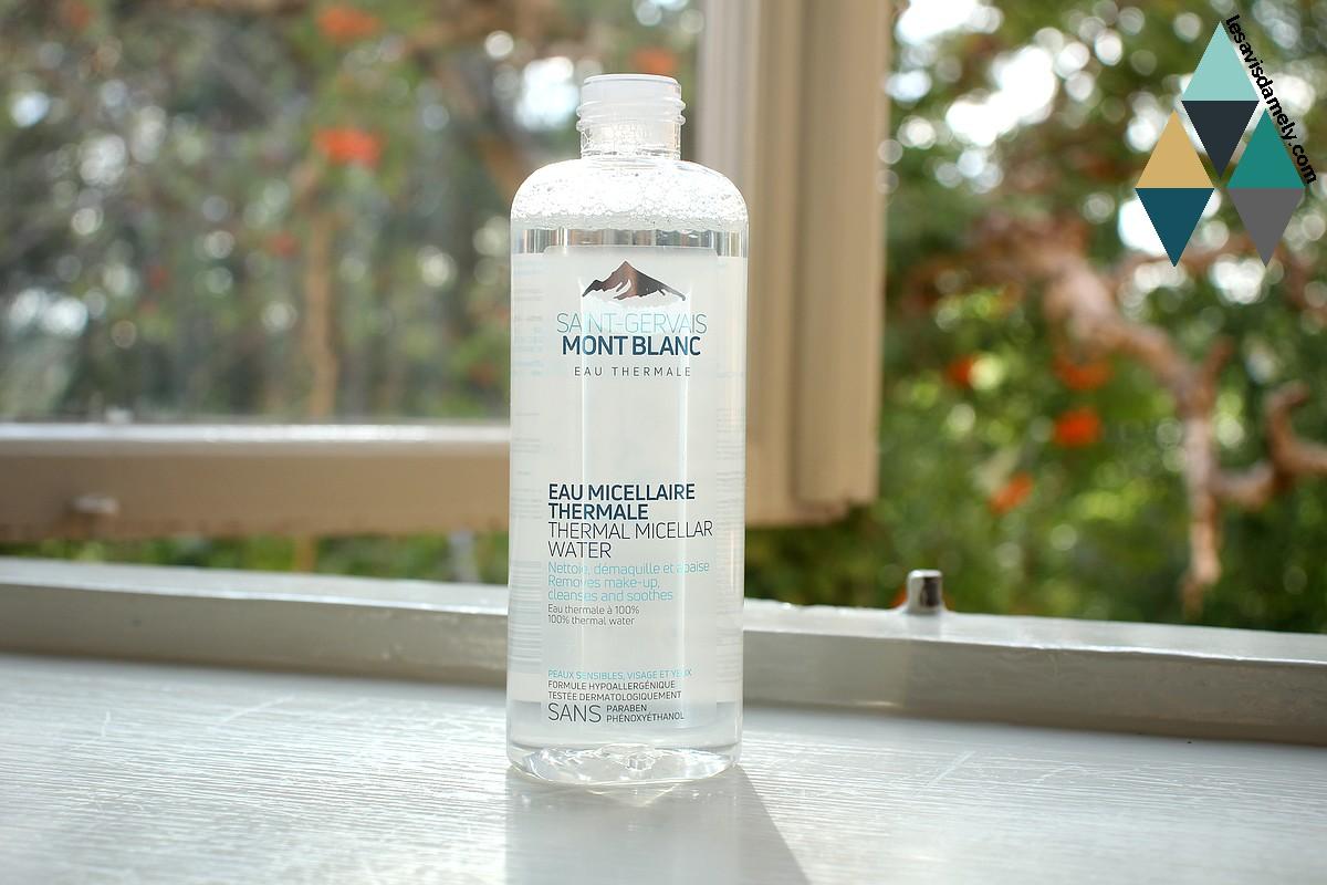 avis et test eau micellaire thermale saint gervais mont blanc