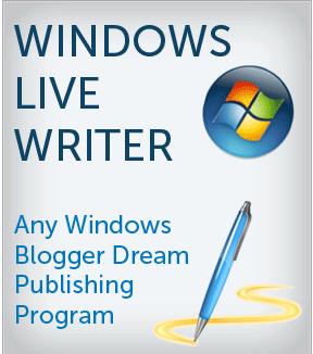 Windows Live Writer for blogging