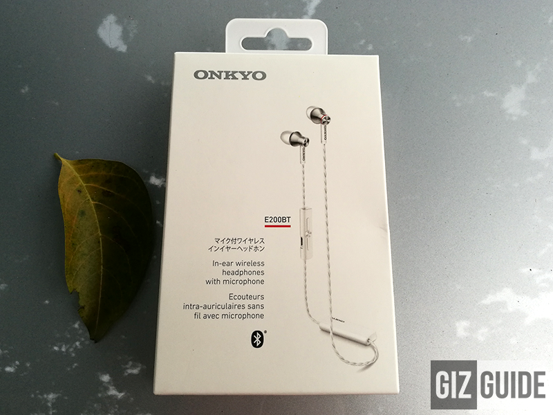Christmas Raffle 3: Onkyo E200BT Great Sounding Bluetooth Earphones!