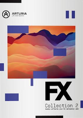 Cover dos plugins Arturia - FX Collection 2 v2021.7