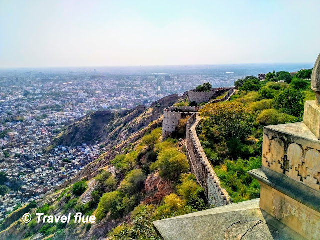 Nahargarh Fort by travelflue