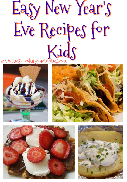 Fun and easy new year recipes for your children forumfinder Gallery