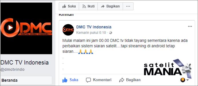 Siaran DMC TV Indonesia Hilang? Ternyata Ini Masalahnya..