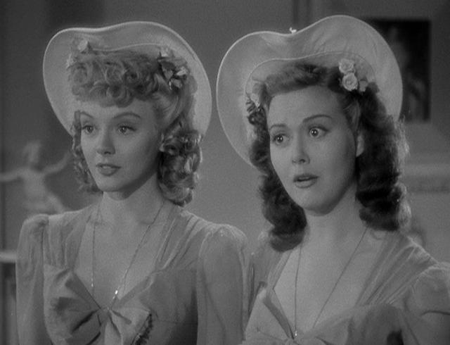 1942. Leslie Brooks, Adele Mara - You were never lovelier
