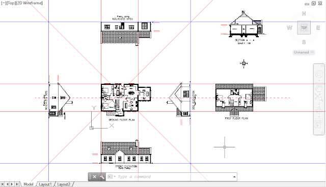 Sample DWG file for AutoCAD-3D Tutorial