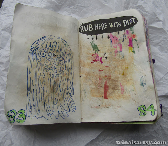 Wreck this Journal -  Rub here with dirt dude