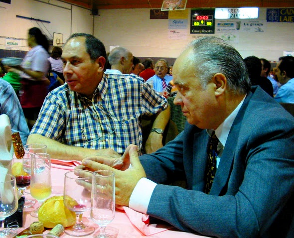 Joan Bautista y Jaume Anguera, Nit d el'Esport 2005