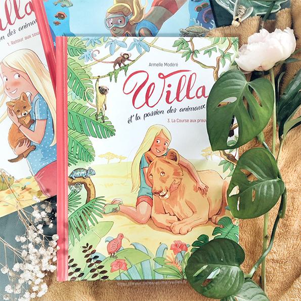 Bd jeunesse : Willa et la passion des animaux - t3