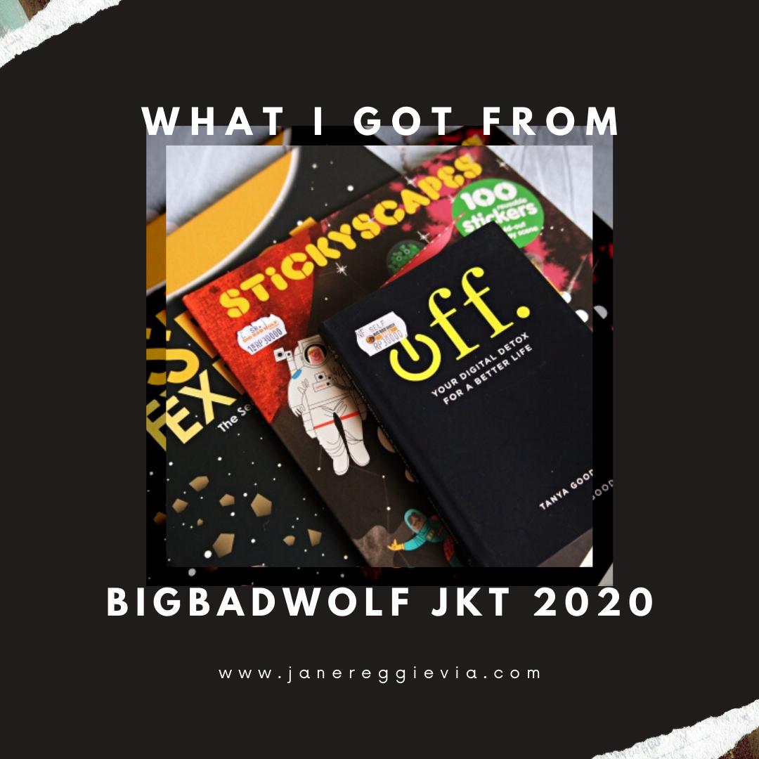 Books I Got From Big Bad Wolf Jakarta 2020