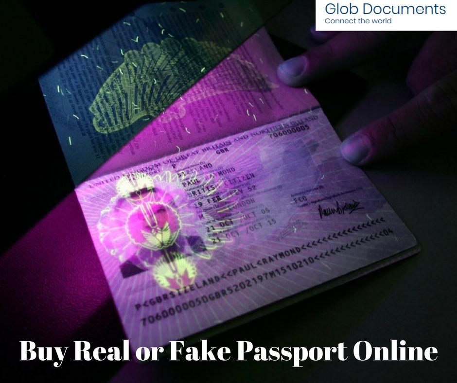 Buy Real or Fake Passport Online
