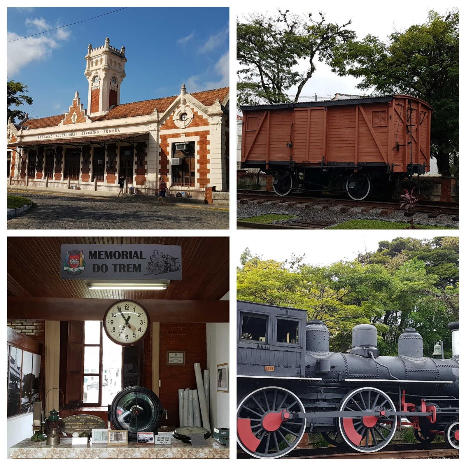 Estação de trem de Vassouras,RJ.