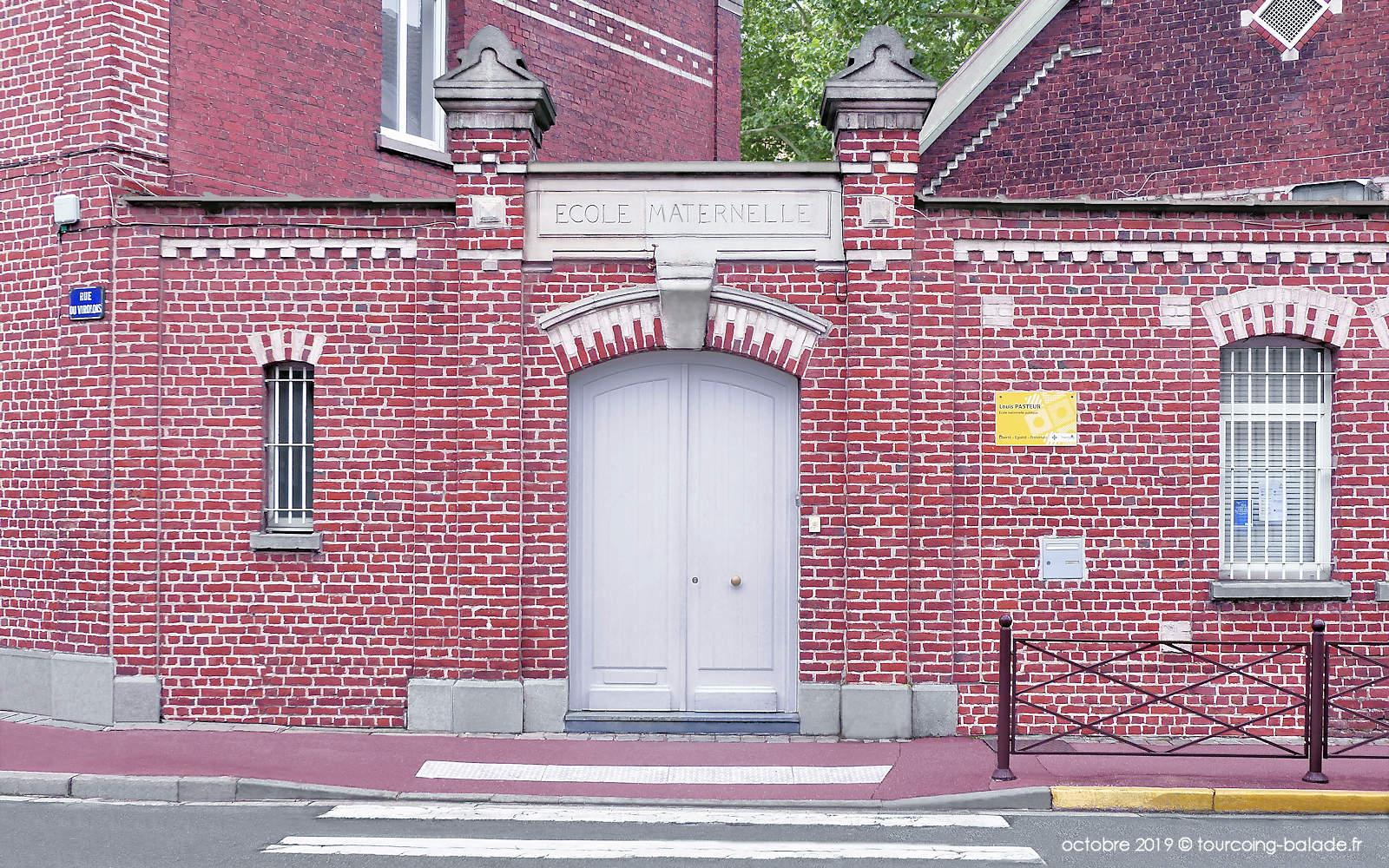 École maternelle Pasteur, Tourcoing Virolois.